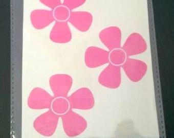 Flower Vinyl stickers