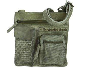Sunsa crossbody bag shoulder bag handbag leather bag 91243