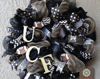 UCF Knights Wreath
