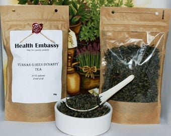 Yunnan Green Dynasty Tea 75g - Health Embassy - Organic