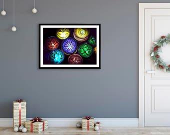 Photographie Fine Art - Vaisselle Marocaine Colorée - Marrakech - Maroc