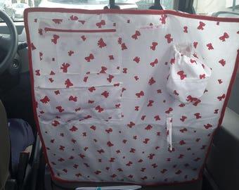 Protective seat car Ribbon bows