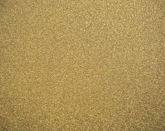 10 x Gold Glitter Card - A4 Sheets - Non Shed