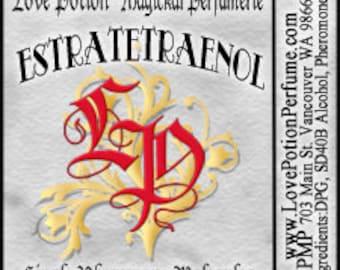PHEROTINE! ~ Estratetraenol ~ Single Pheromone Molecule - Limted Ed UNscented Pheromone Trials by Love Potion Magickal Perfumerie