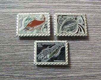 Vintage Fish Pin, Pins for Collectors, Fish Pin, Fish Brooch