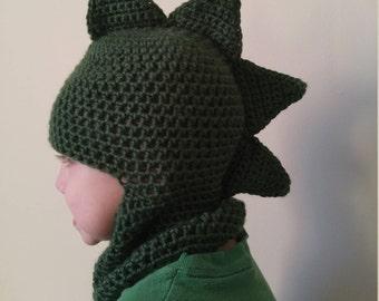 Dinosaur Hat/Balaclava/Full Face Mask