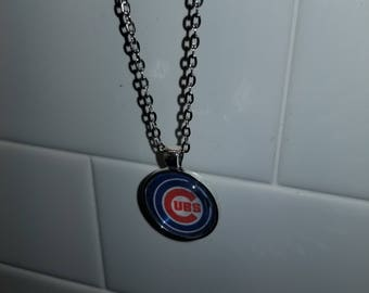CUBS, BEARS, SOX, Cityscape Chicago Chain Necklace