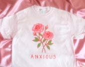 Anxious Pink Tees / T Shirt - Unisex Sizes