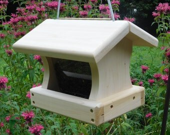 Small Cedar Bird Feeder,Hanging Bird Feeder,Small Bird Feeder