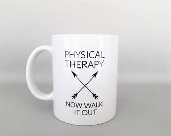 Physical Therapy Mug, Physical Therapy Mugs, PT Mug,  PT Mugs, PT Gift, Physical Therapy Gift, Physical Therapy, Funny Physical Therapy Mug
