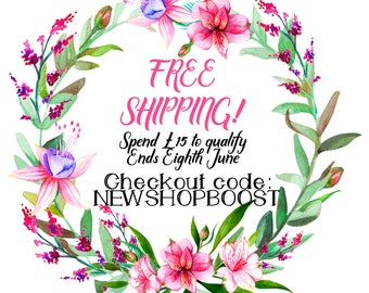 Free Shipping, New Shop Boost, Discount, Discount Code, Coupon, Coupon Code, Sale, Father's Day Sale, Fathers Day