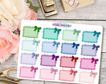 Doodle Scallop Halfbox Stickers -042
