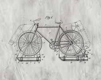 Water bicycle Patent #1034278 dated July 30, 1912.