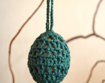 Openwork Crochet Easter Egg, Easter Decoration, Crochet Egg, Easter Gift