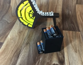 AA Battery Dispenser | Battery Storage | Battery Case | Battery Organiser | Double A Battery box - 3D Printed