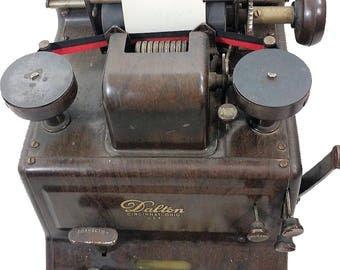 Dalton 10 Key Adding Machine Model #195986