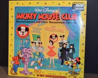 1975 Disneyland Records #1362 Walt Disney's Mickey Mouse Club