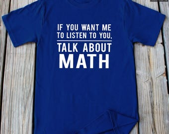 Math Shirt Funny Math T shirt Mathematics shirt Gifts For Math Lover Funny School Shirt Christmas Gifts Mathematics gift Math Gift For Him