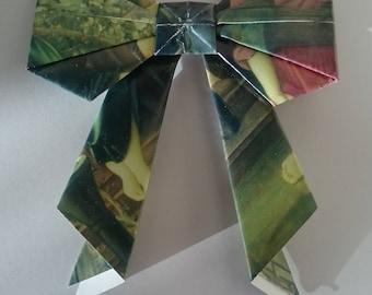 5 Medium pre raphaelite origami bows