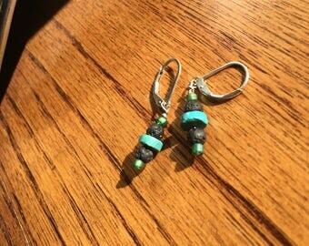 Turquoise Diffuser Earrings