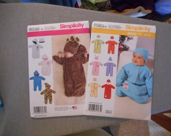 New Baby Sewing Patterns - Bunting, Snug Sack, Hats
