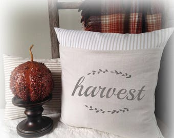 Harvest, Harvest Pillow, Pillow Cover, Autumn