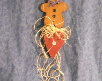 Gingerbread Man Wall Hanging