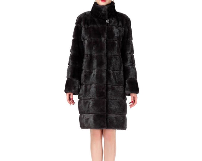 Luxury Mink Fur Coat,Fashion Fur Coat F136