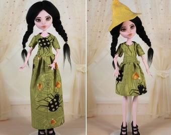3 STYLES! Clothes/Outfit/Dress + Hat for Monster High dolls/Halloween