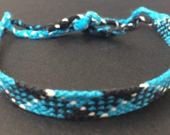 Blue Kilt Friendship Bracelet