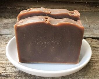 Sale! Happy Hippie Soap, Sandalwood & Patchouli Soap, Goat Milk Soap, Kaolin Clay Soap