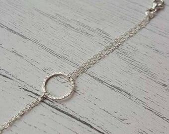 Geometric Bracelet - Hoop Bracelet - Bridal Jewellery - Minimalist Bracelet - Simplistic Bracelet - Wedding Jewellery - Bridesmaid Bracelet