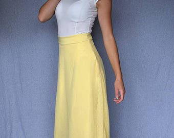 Layered Maxi Skirt - Custom Made