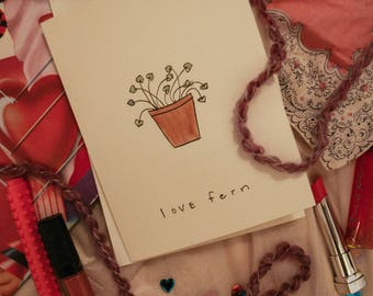 how to lose a guy in 10 days quote valentine handmade card