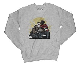 Movie sweatshirt horror sweatshirt hipster pullover gamer sweatshirt  brother gift normcore sweatshirt graphics sweatshirt    AP59