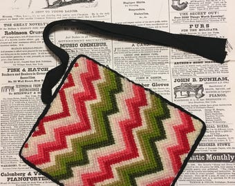 Reproduction Needlepoint Wallet
