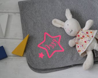 Baby blanket, personalised blanket, baby shower gift