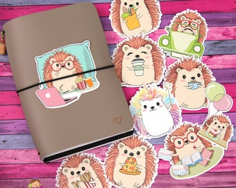 Die Cuts - Planner Die Cuts - Hedgehog Die Cuts - Planner Accessories - Traveler's Notebook Accessories
