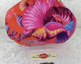 Shell Bouquet Alice handbag clutch purse bag Phillip Jacobs Kaffe Fassett handmade in England
