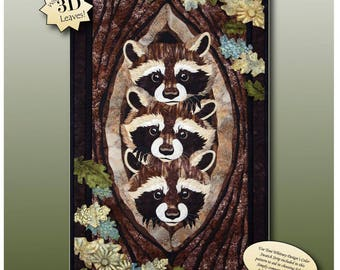 Who? What? Where? Quilt/Wallhanging Pattern by Toni Whitney WWW030