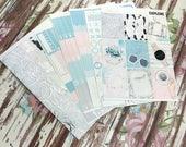 FOIL Explore Deluxe Kit, planner stickers