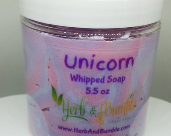Unicorn Whipped Soap; Whipped Soap; Soft Soap; Shave Soap