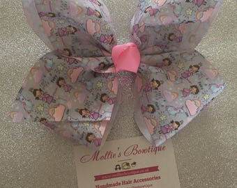 6.5-7'' BIG 'JoJo' inspired Bow - Fairytale