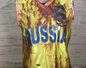 Zombie Basketball Jersey Russia #6