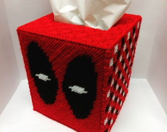 Deadpool Tissue Box Cover