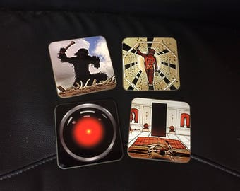 2001 A Space Odyssey Coasters - Singles or Sets - Stanley Kubrick