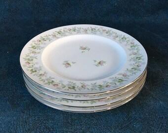 Vintage Johann Haviland Forever Salad Plates, Set of 4