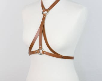 08 Leather BODY HARNESS