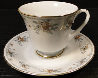 Noritake Legendary Secret Love Tea Cup Saucer Set 3481 EXCELLENT!