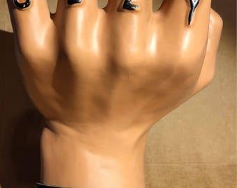Basic -- Leather Cuff Bracelet